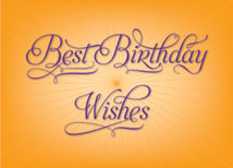 Best Birthday Wishes Greeting Card